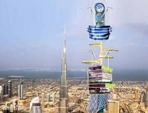 迪拜建伊卡洛斯塔取代哈利法塔成世界第一高楼