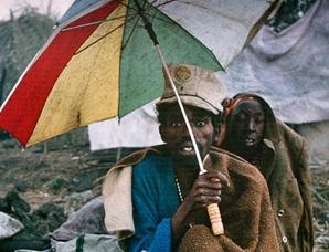 1994年卢旺达大屠杀中的悲惨难民