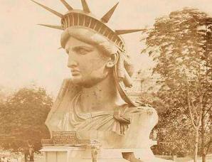 自由女神像建造全过程