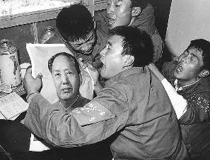 毛主席逝世时的场景