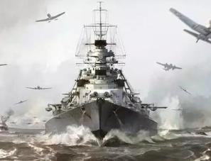 德国的知名战列舰俾斯麦号是如何沉没的?