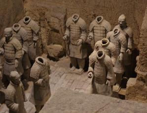 秦始皇陵3号墓坑中兵马俑为什么没有头?