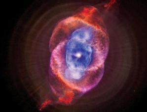 猫眼星云的毁灭预示太阳系最终命运