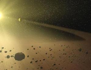 火星和木星之间为什么存在小行星带?